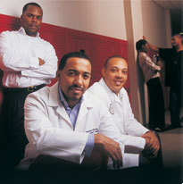Aetna: 2006 African American History Calendar: 'The Three Doctors'