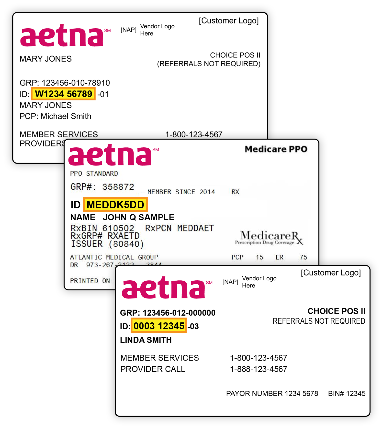 Aetna Insurance Group Id | aesthetic name
