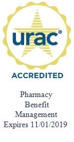 URAC Accredited Pharmacy Benefit Management logo