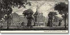 Illustration of a large building