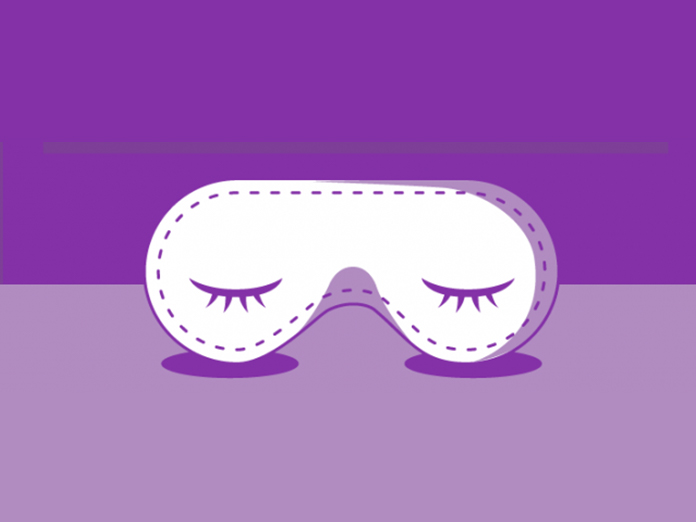 Image of a sleep mask